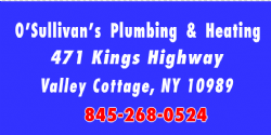 O'Sullivans Plumbing & Heating, Inc.