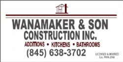 Wanamaker & Son Construction